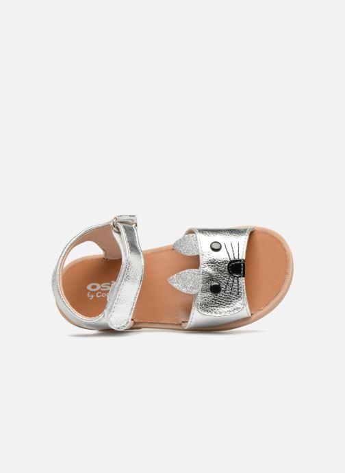 Sandales et nu-pieds Osito by Conguitos Paloma Argent vue gauche