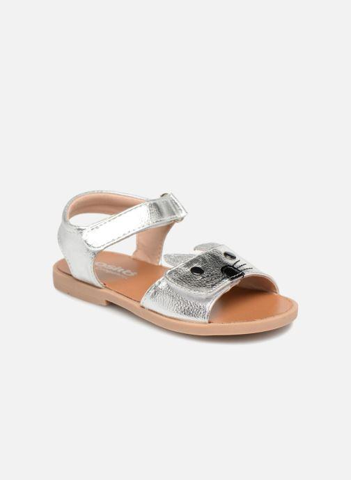 Sandales et nu-pieds Osito by Conguitos Paloma Argent vue détail/paire