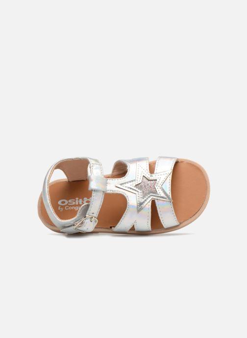 Sandales et nu-pieds Osito by Conguitos Estella Argent vue gauche