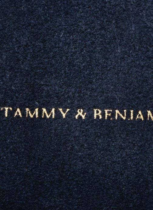 Sacs à main Tammy & Benjamin Emma Mini Bleu vue gauche
