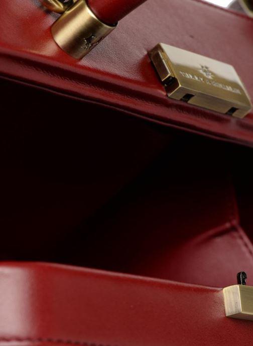 Handtaschen Tammy & Benjamin Vanity Box weinrot ansicht von hinten