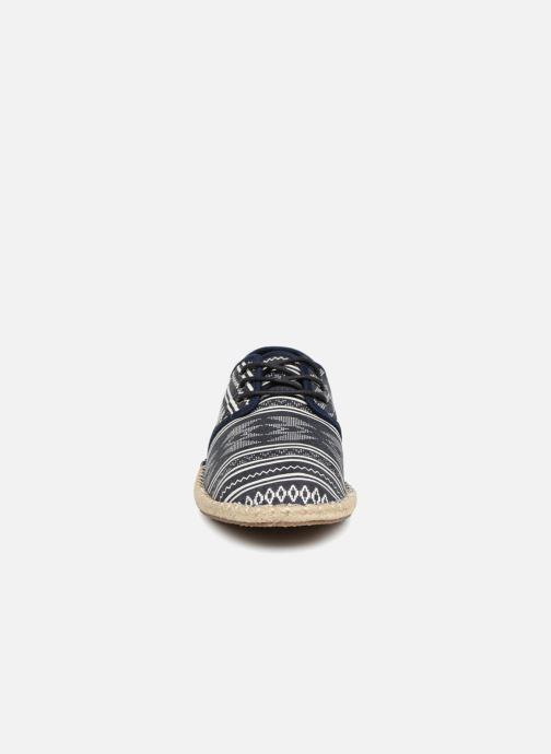 Espadrilles TOMS Diego Bleu vue portées chaussures