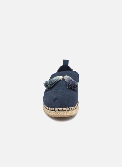 Espadrilles TOMS Deconstructured Alpargata F Bleu vue portées chaussures
