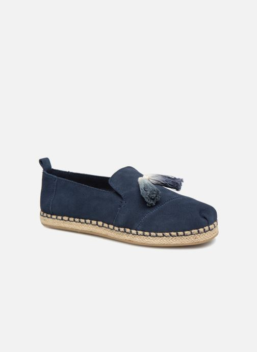 Espadrilles TOMS Deconstructured Alpargata F Blue detailed view/ Pair view