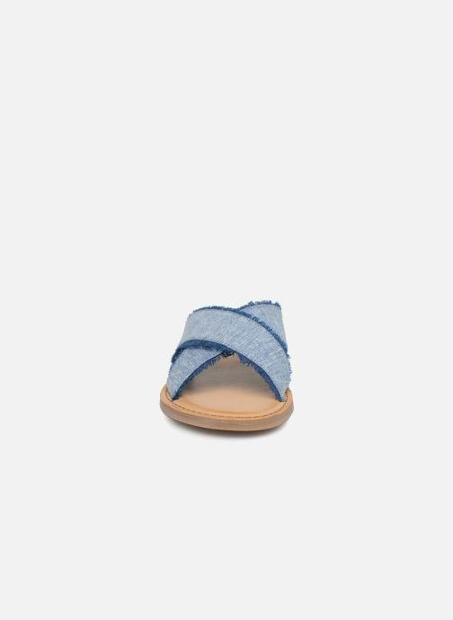 Mules et sabots TOMS Viv Bleu vue portées chaussures