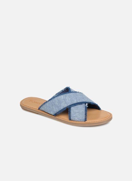 Clogs & Pantoletten TOMS Viv blau detaillierte ansicht/modell