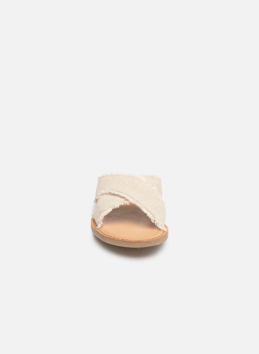 Mules et sabots TOMS Viv Beige vue portées chaussures
