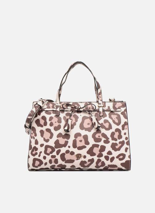 Handbags Guess Leila Satchel Beige detailed view/ Pair view