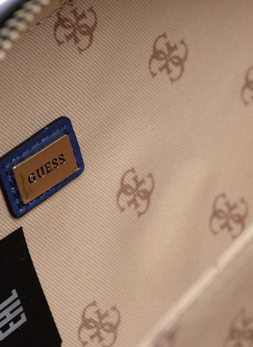 Handtaschen Guess Dania Mini Crossbody Top Zip weiß ansicht von hinten