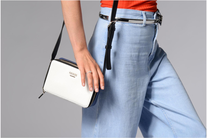 Mini Zip multi White Top Dania Crossbody Guess a1xpwqO5C