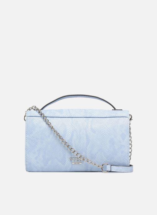 Petite Maroquinerie Guess Glux Mini Wallet Bleu vue face