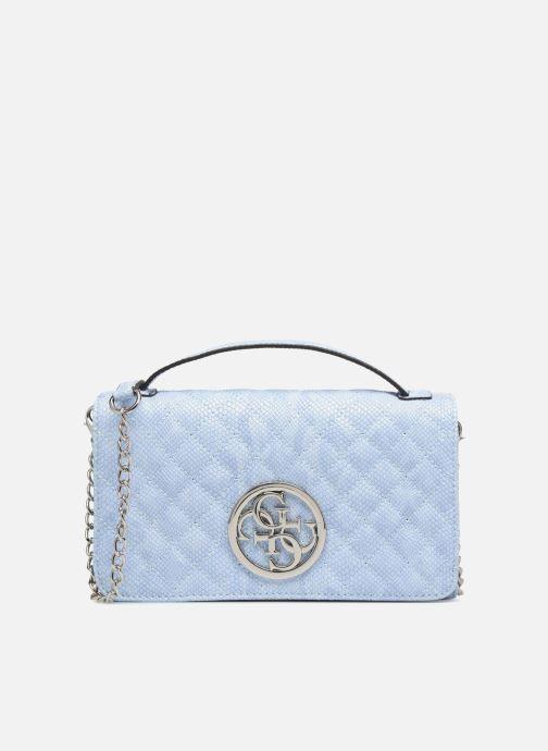 Petite Maroquinerie Guess Glux Mini Wallet Bleu vue détail/paire