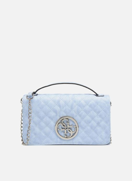 Marroquinería pequeña Guess Glux Mini Wallet Azul vista de detalle / par