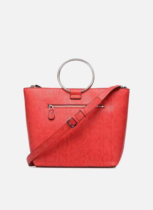 Handbags Guess Keaton Tote Red front view