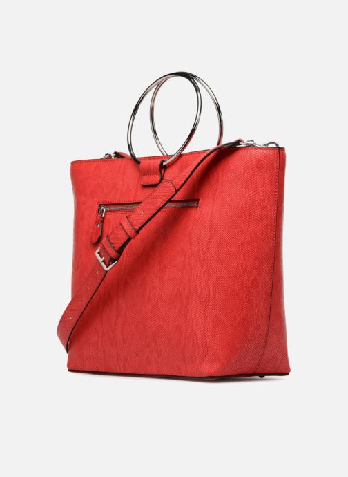 Handbags Guess Keaton Tote Red view from the right