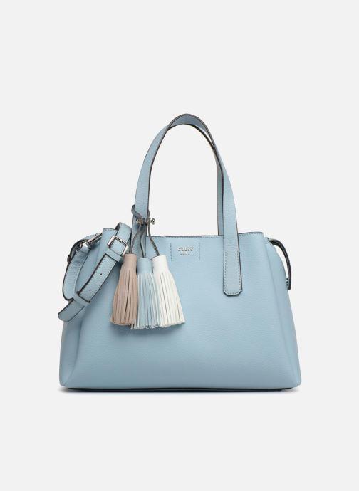 5a61880f56bd Guess Trudy Girlfriend Satchel (Blue) - Handbags chez Sarenza (315657)