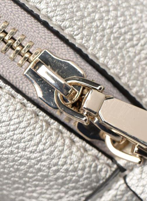 Rugzakken Guess Varsity Pop Small Backpack Zilver links