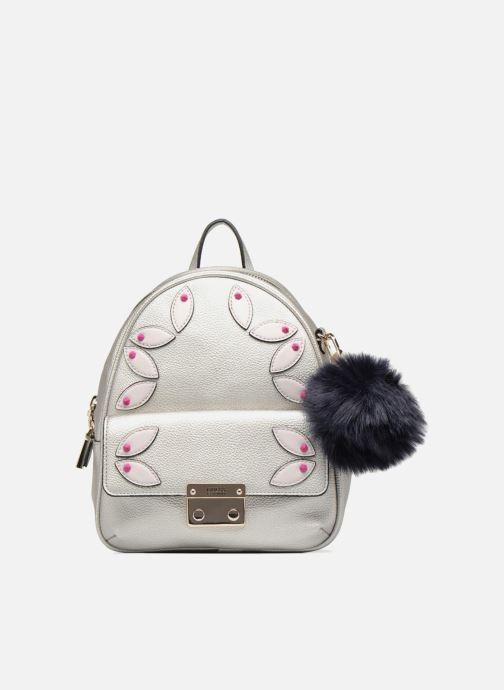 Rugzakken Guess Varsity Pop Small Backpack Zilver detail