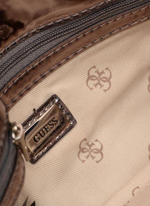 Handtassen Guess Spring Fling Crossbody Clutch Zilver achterkant