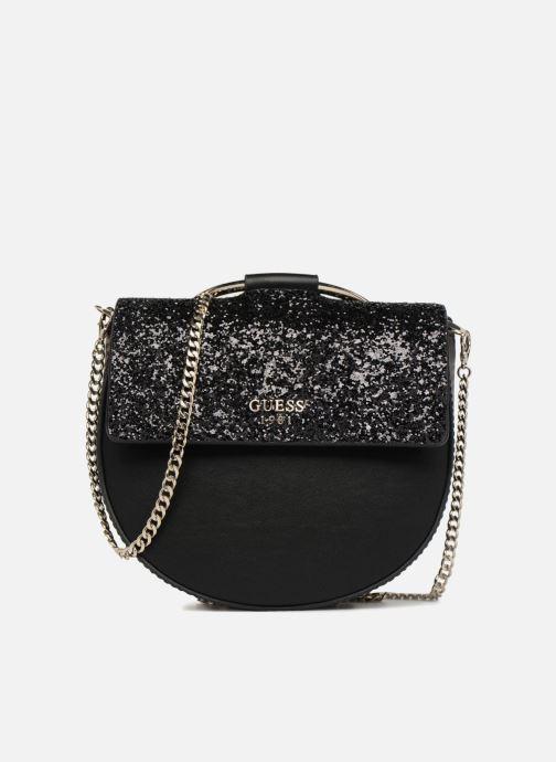 cace2eee06 Handbags Guess Spring Fling Crossbody Flap Black detailed view  Pair view