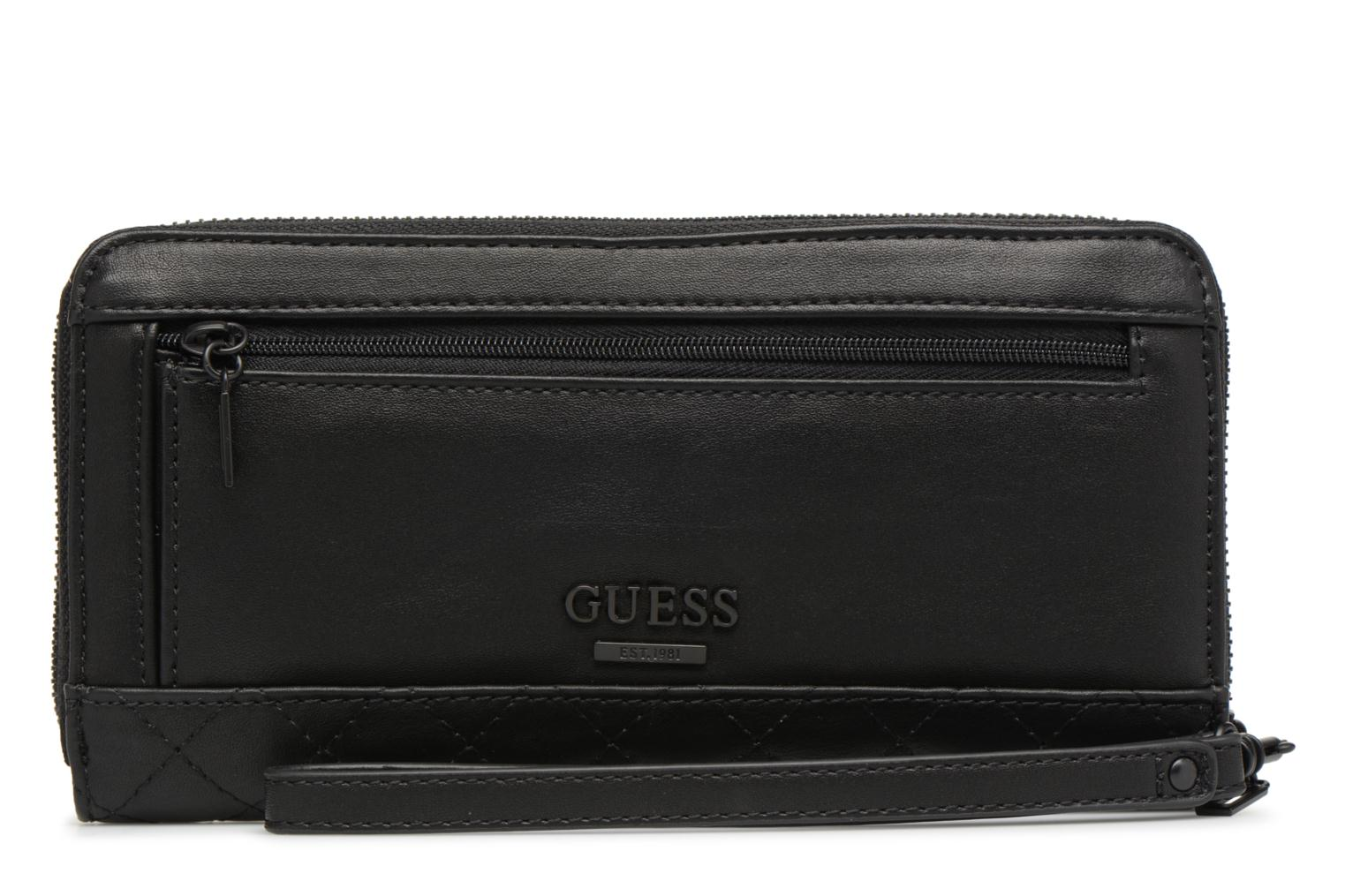 Guess Zip Around Black Lux G Large aTxAaYq