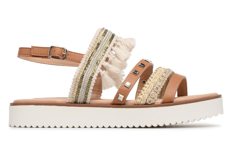 Sandales et nu-pieds MTNG Carli Marron vue derrière
