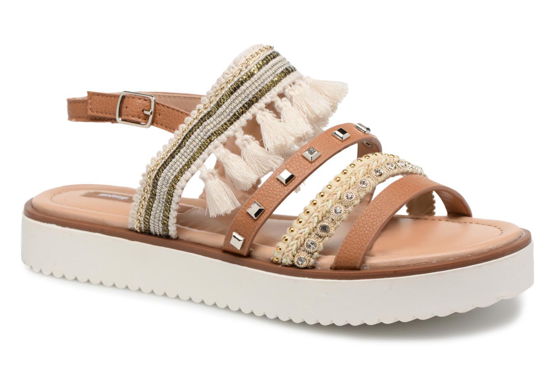 Sandales et nu-pieds MTNG Carli Marron vue détail/paire