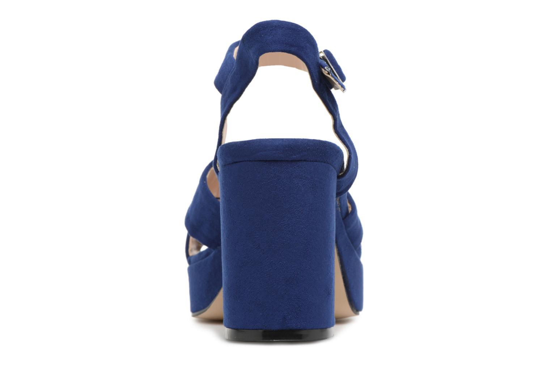 Sandales et nu-pieds MTNG Isquina Bleu vue droite