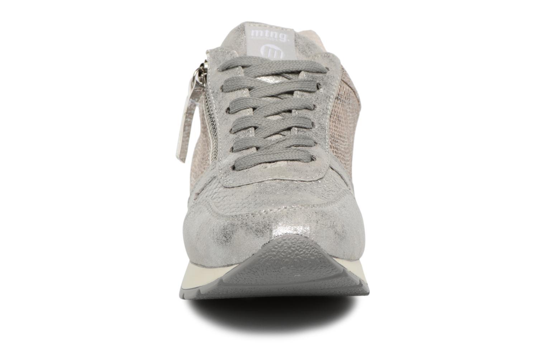 Baskets MTNG Transit Argent vue portées chaussures