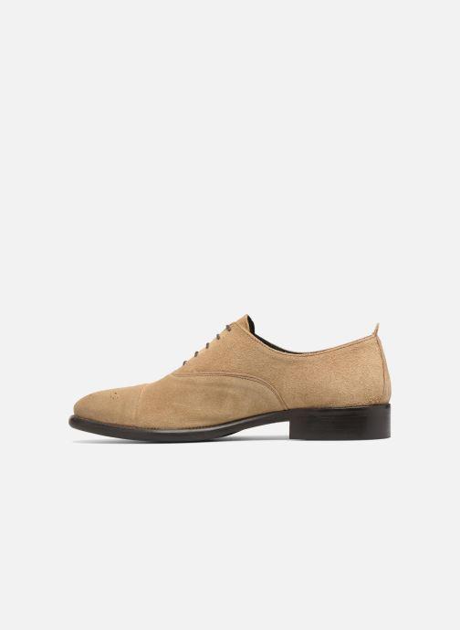 Chaussures à lacets Marvin&Co Duck Beige vue face