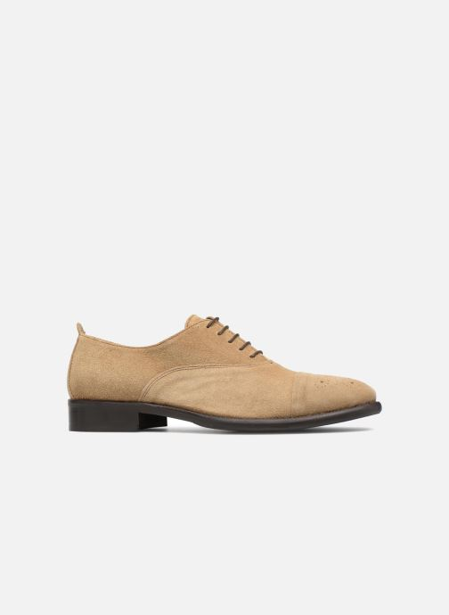 Lace-up shoes Marvin&co Duck Beige back view