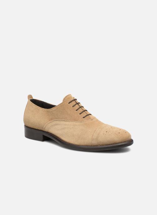 Chaussures à lacets Marvin&Co Duck Beige vue détail/paire
