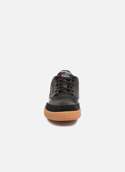 Baskets Reebok Revenge Plus Gum Noir vue portées chaussures