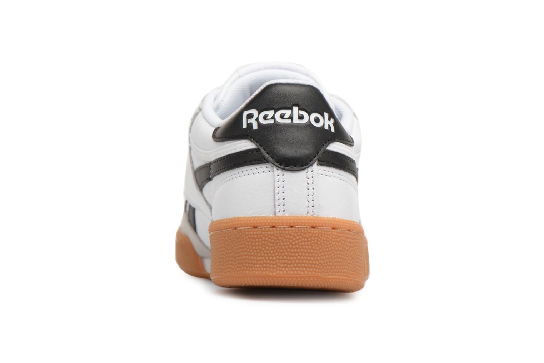 Baskets Reebok Revenge Plus Gum Blanc vue droite