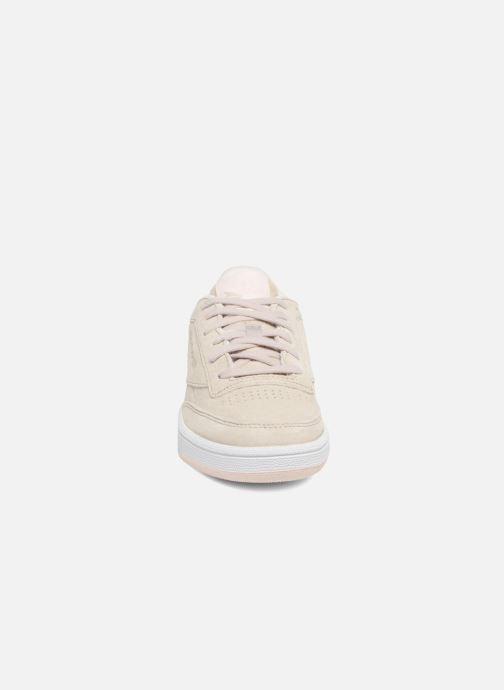 Sneaker Reebok Club C 85 Tonal Nbk grau schuhe getragen