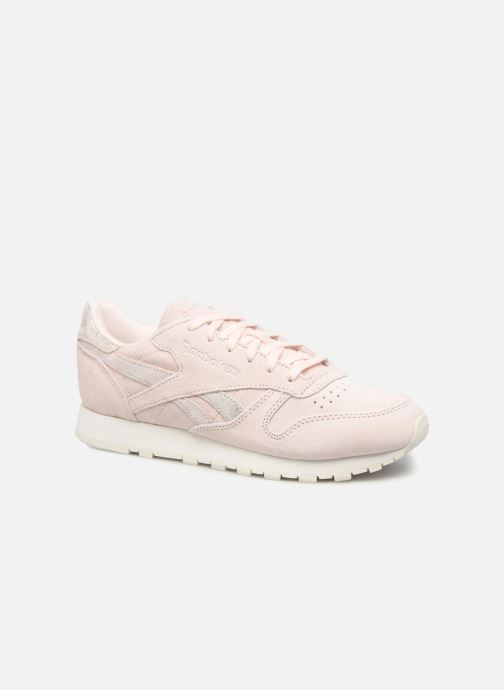 bdfa824be19dc Reebok Classic Leather Shimmer (Rose) - Baskets chez Sarenza (315913)