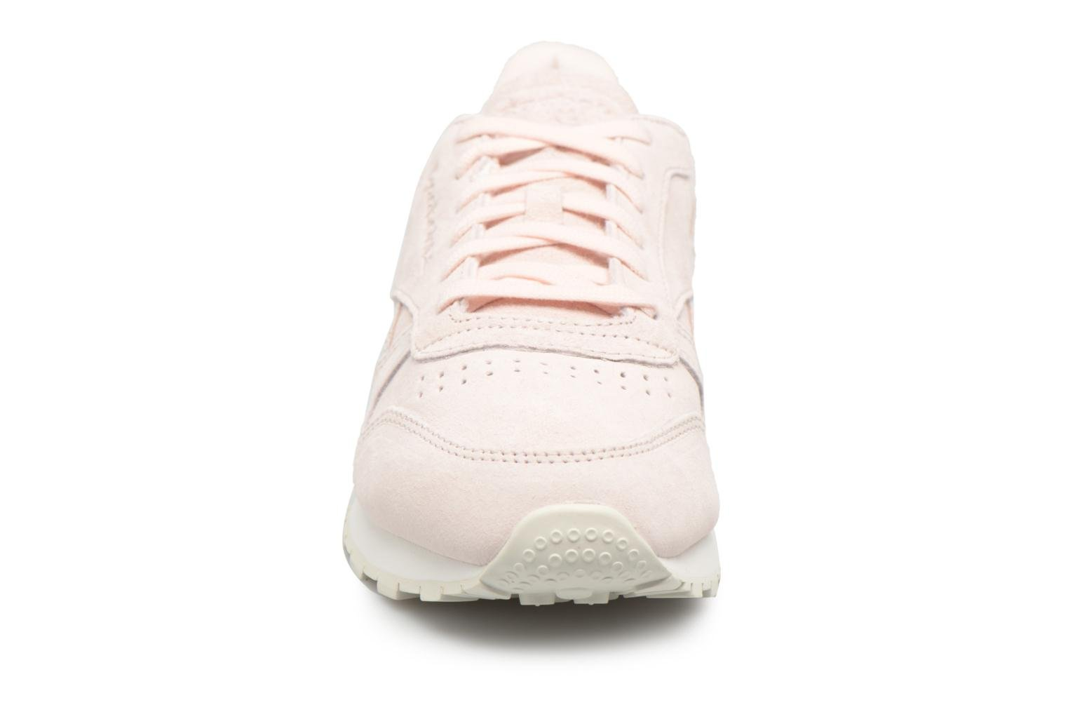 Baskets Reebok Classic Leather Shimmer Rose vue portées chaussures