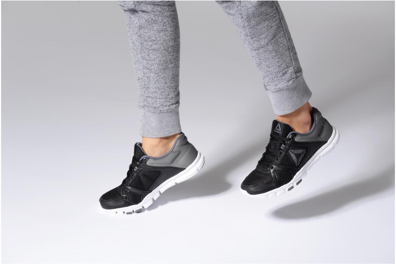 Chaussures de sport Reebok Yourflex Trainette 10 Mt Violet vue bas / vue portée sac