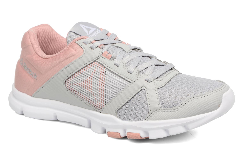 Chaussures de sport Reebok Yourflex Trainette 10 Mt Gris vue détail/paire
