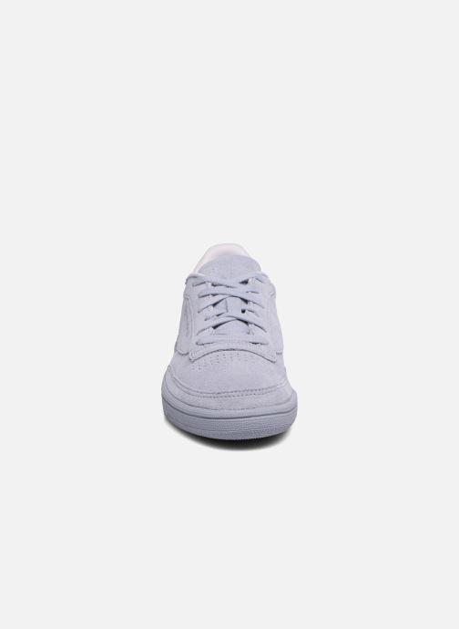 Baskets Reebok Club C 85 Nbk Violet vue portées chaussures