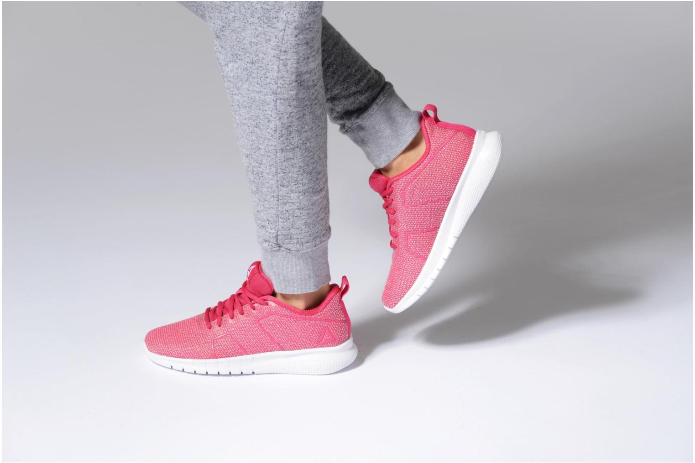 Chaussures de sport Reebok Reebok Instalite Pro Rose vue bas / vue portée sac