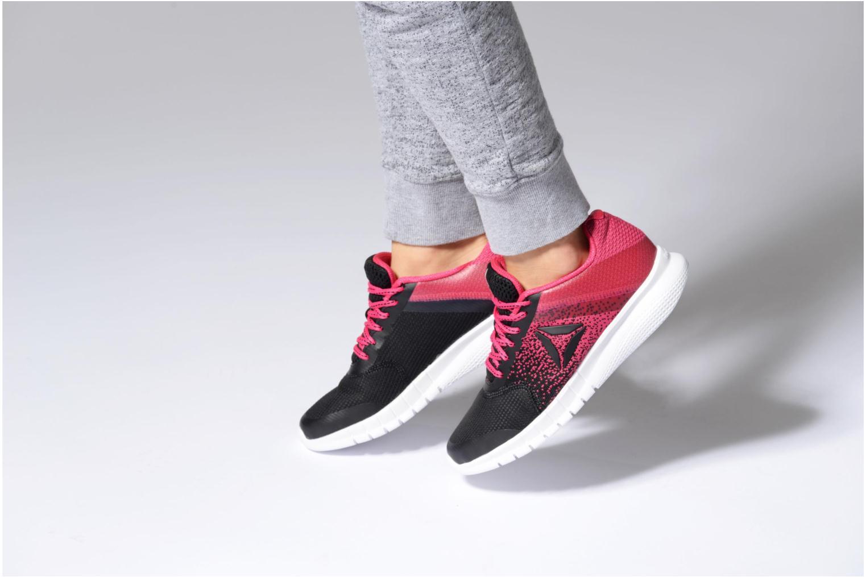 Chaussures de sport Reebok Reebok Instalite Run Noir vue bas / vue portée sac