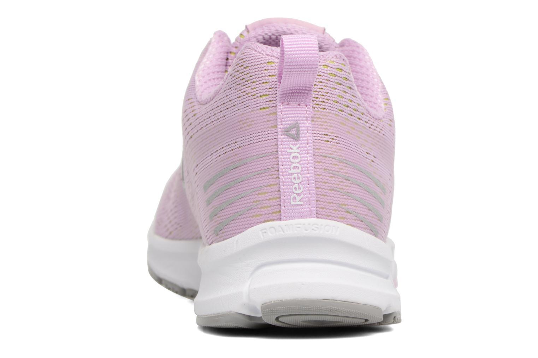 Chaussures de sport Reebok Ahary Runner Rose vue droite