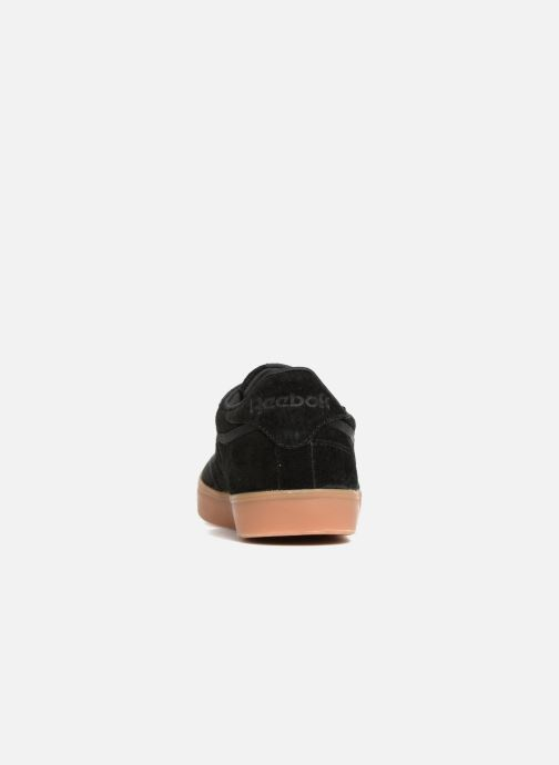 Trainers Reebok Club C 85 Fvs Black view from the right