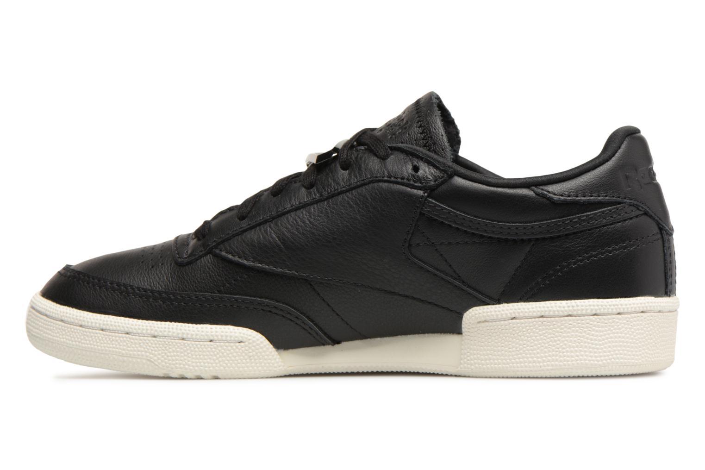Sneakers Reebok Club C 85 Hrdware Zwart voorkant