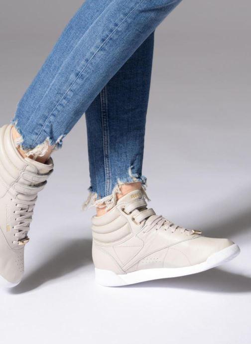 Sneakers Reebok Freestyle Hi Muted Grijs onder