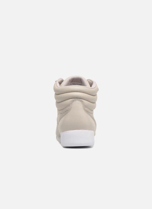 Sneakers Reebok Freestyle Hi Muted Grijs rechts