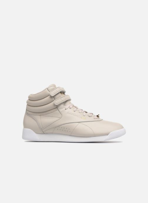 Baskets Reebok Freestyle Hi Muted Gris vue derrière