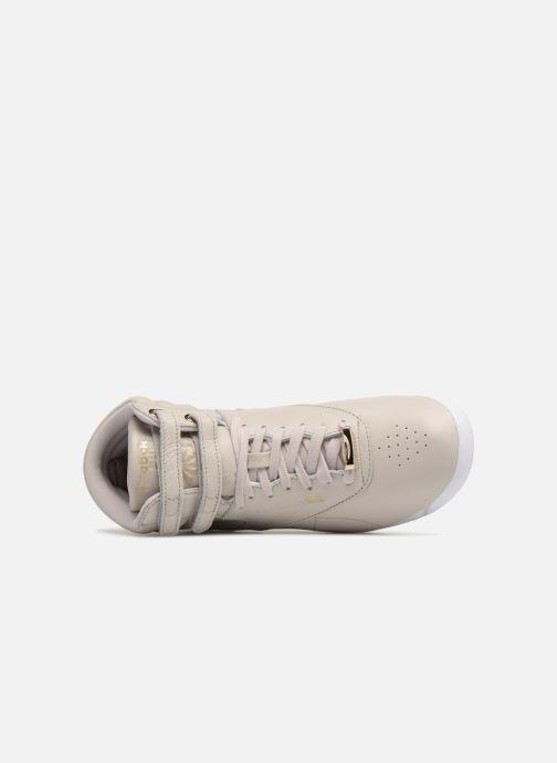 Sneakers Reebok Freestyle Hi Muted Grijs links