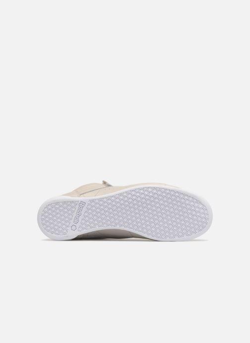 Sneakers Reebok Freestyle Hi Muted Grijs boven